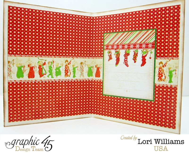 Twas the night before christmas card interior