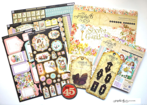 Graphic 45 Sweet Sentiments Secret Garden prize contest winner