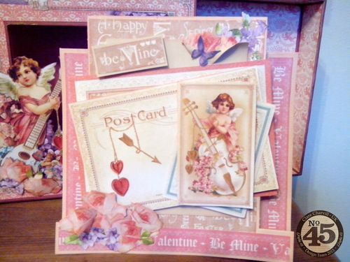 CHA 2014 Sweet Sentiments Altered Matchbook Box Pic 2