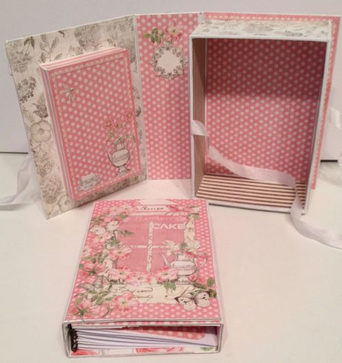 BOTANICAL TEA-GRAPHIC 45-G45-MINI ALBUM-RECIPE-BOOK-BOX-PHOTO-ALBUM-BINDING-CREATE-ANNESPAPERCREATIONS- REATIV SCRAPPING- 6