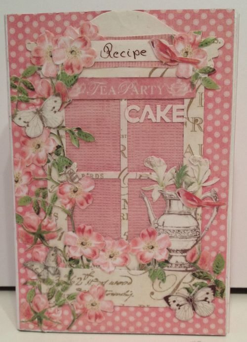 BOTANICAL TEA-GRAPHIC 45-G45-MINI ALBUM-RECIPE-BOOK-BOX-PHOTO-ALBUM-BINDING-CREATE-ANNESPAPERCREATIONS-KREATIV SCRAPPING- 7