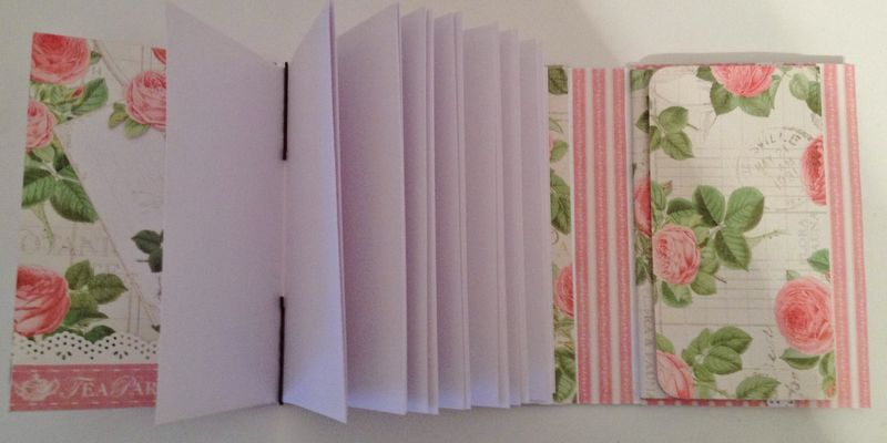 BOTANICAL TEA-GRAPHIC 45-G45-MINI ALBUM-RECIPE-BOOK-BOX-PHOTO-ALBUM-BINDING-CREATE-ANNESPAPERCREATIONS-KREATIV SCRAPPING- 11