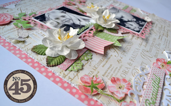 Graphic-45_Botanical-tea_layout_April national scrapbook blog_karen shady detail #4