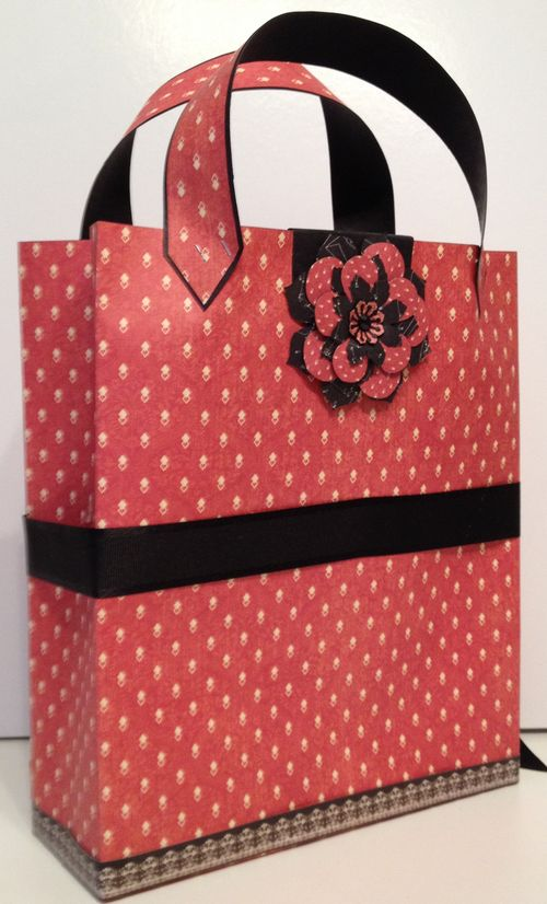 COUTURE-GRAPHIC 45-PURSE-BAG-PAPER BAG-GRAPHIC 45-G45-KREATIV SCRAPPING-ANNESPAPERCREATIONS-ANNE ROSTAD-TUTORIAL- HOW TO-MAKE-3