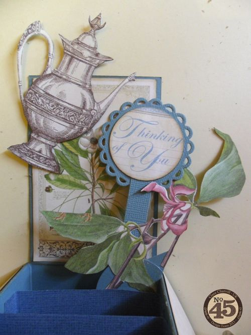 Botanical Tea Folding Card Clare Charvill Pic 13