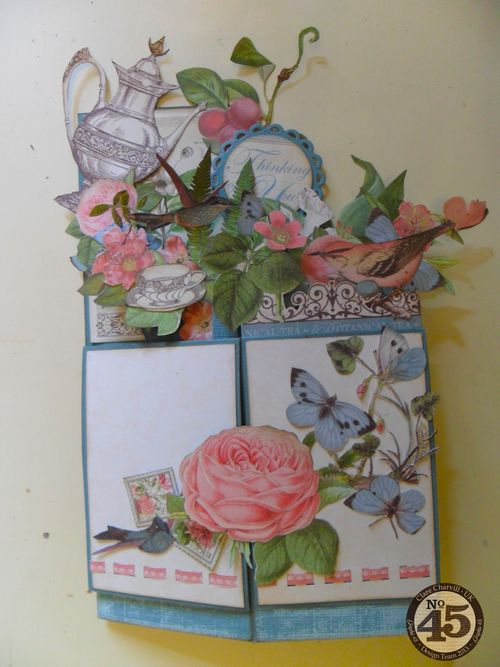 Botanical Tea Folding Card Clare Charvill Pic 19
