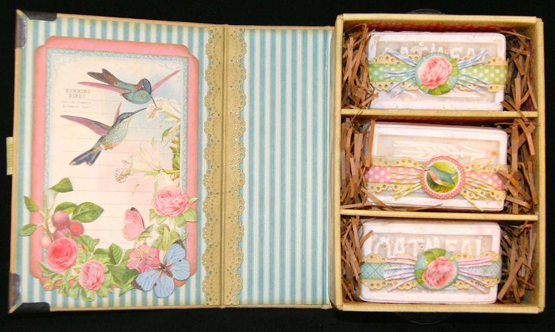 Botanical Tea Soap Gift set Inside