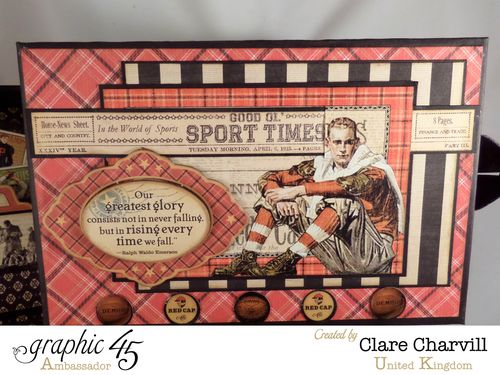 Sporting Keepsake Box Clare Charvill Ambassador 1