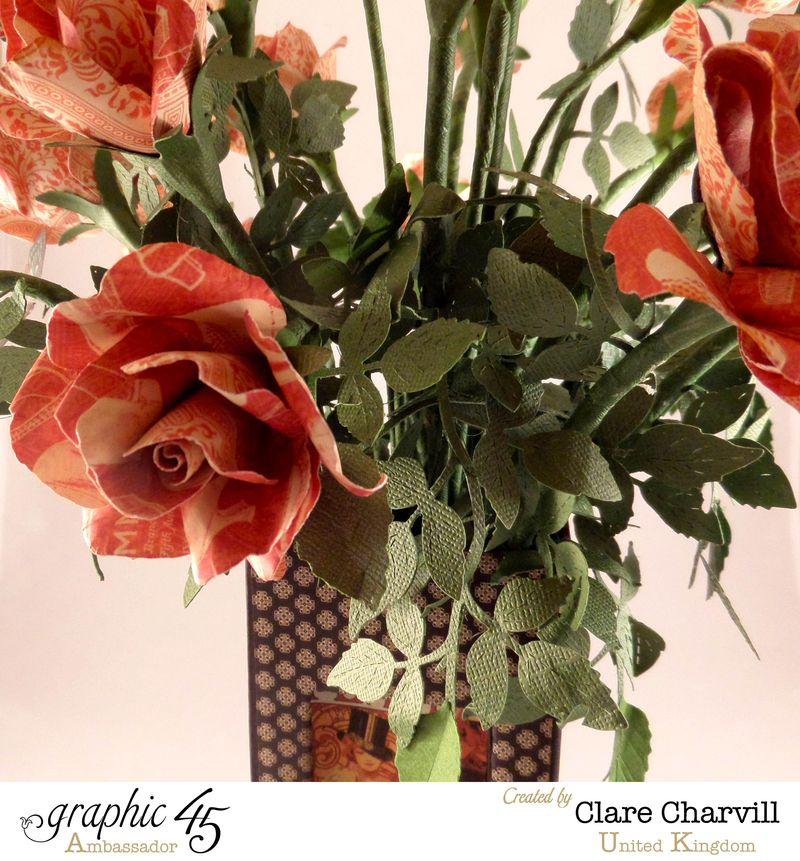 Art Deco Vase of Roses Clare Charvill Ambassador UK 3