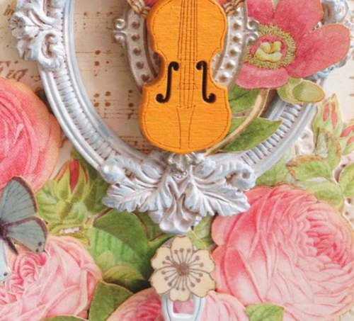 Botanical Tea Violin Display Stand_6