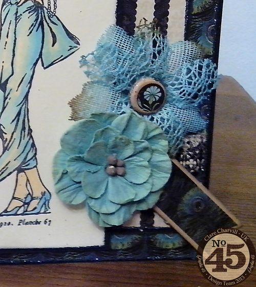 CHA 2014 Clare Charvill Couture La Femme Card pic 1