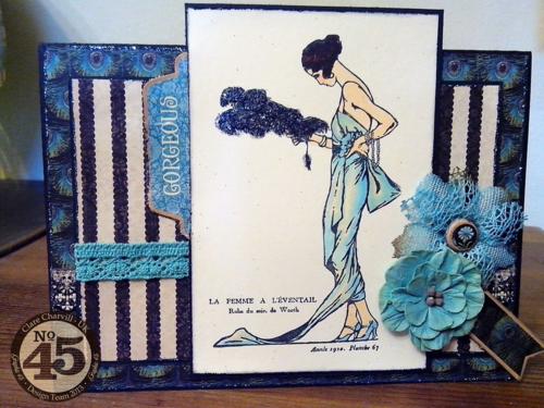 CHA 2014 Clare Charvill Couture La Femme Card Graphic 45