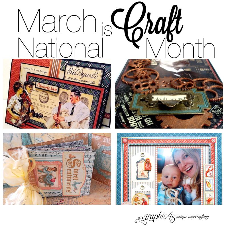 NationalCraftMonthGraphic45Promo