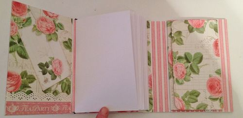 BOTANICAL TEA-GRAPHIC 45-G45-MINI ALBUM-RECIPE-BOOK-BOX-PHOTO-ALBUM-BINDING-CREATE-ANNESPAPERCREATIONS-KREATIV SCRAPPING- 9