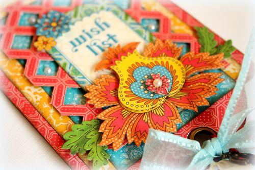 Bohemian Bazaar banner tag - detail