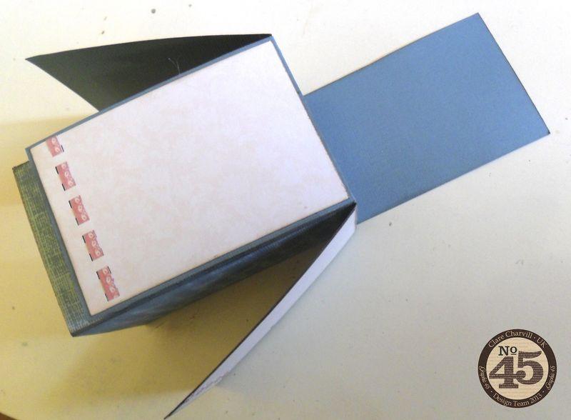 Botanical Tea Folding Card Clare Charvill Pic 8