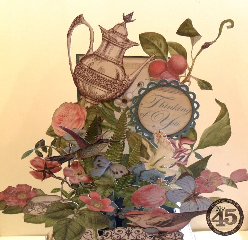 Botanical Tea Folding Card Clare Charvill Pic 17