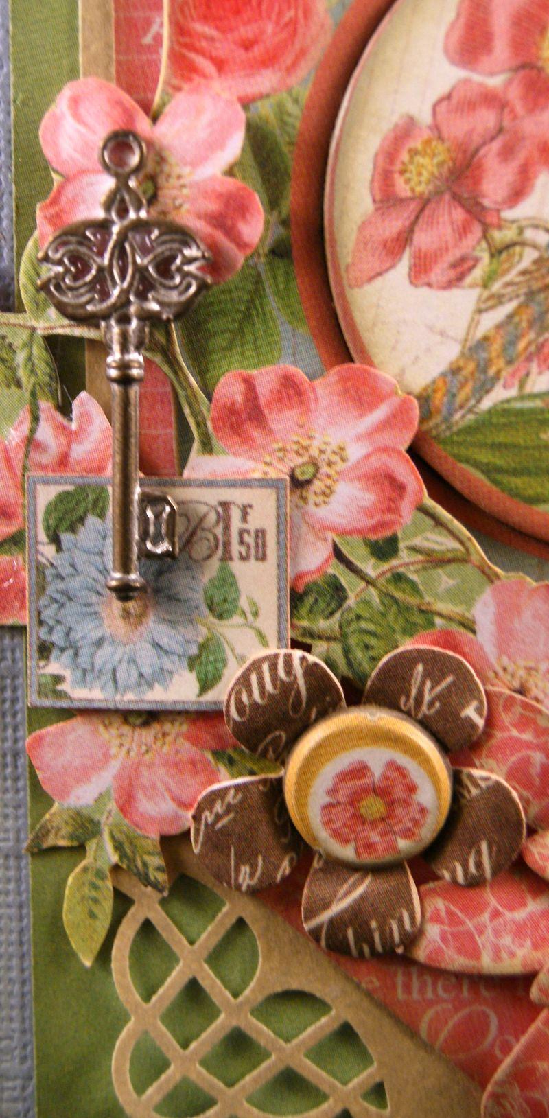 Botanical Tea Soap Gift Set Close up