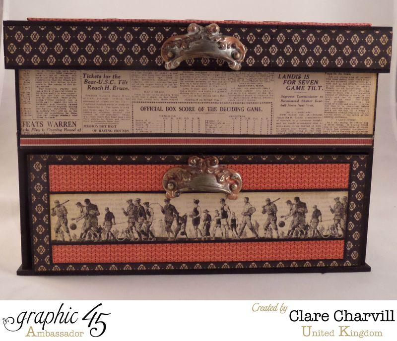 Sporting Keepsake Box Clare Charvill Ambassador 3