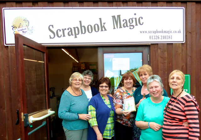 Scrapbook Magic Workshop with Clare 2
