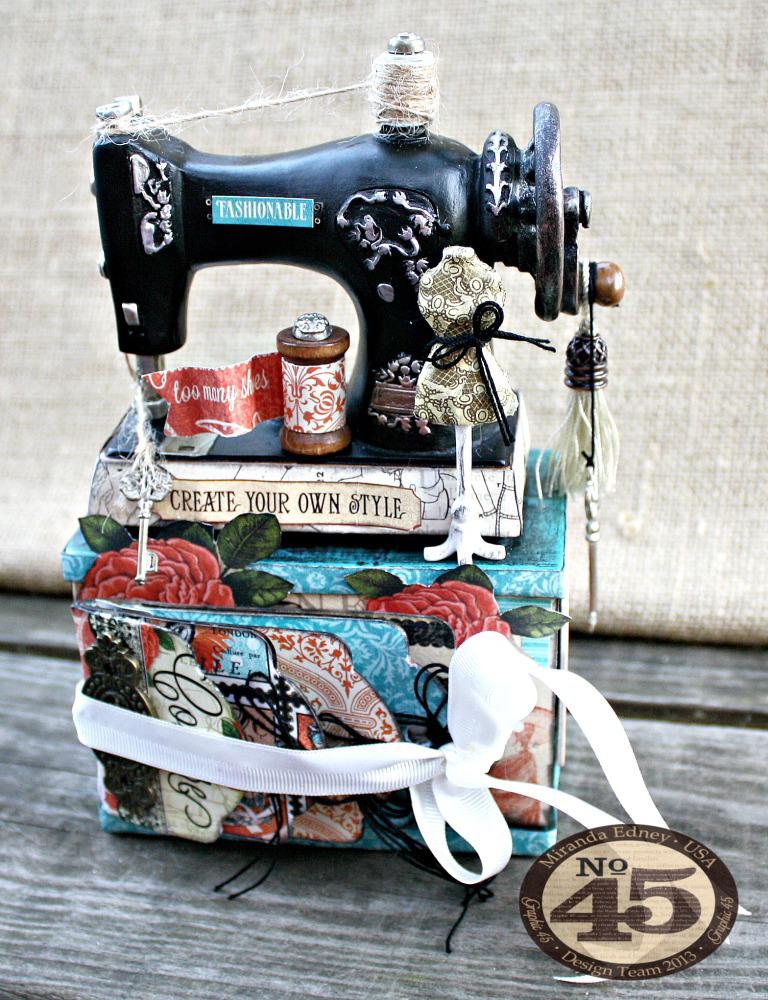 Couture-Altered-Sewing-Machine-and-Mini-Album-Graphic-45-Miranda-Edney-1-of-8