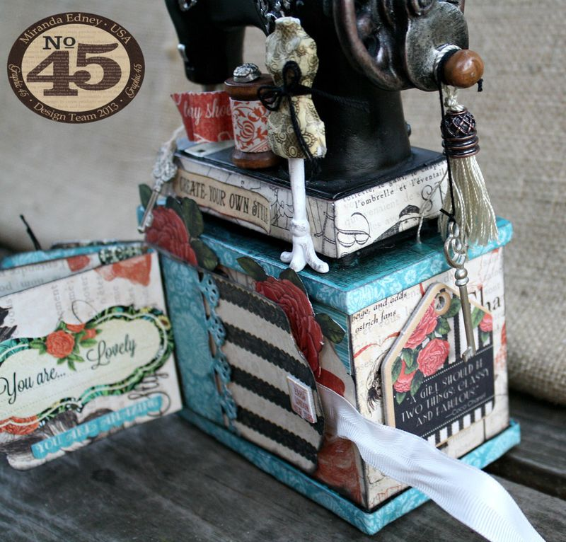 Couture-Altered-Sewing-Machine-and-Mini-Album-Graphic-45-Miranda-Edney-8-of-8