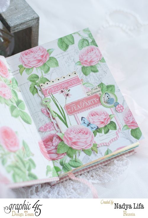 Botanical Tea notebook