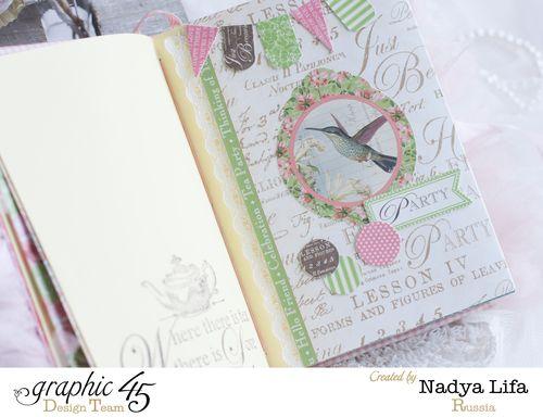 Botanical Tea notebook