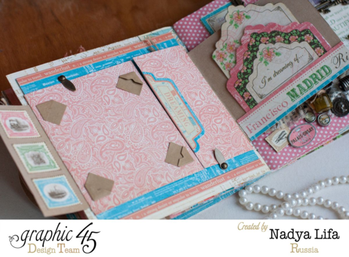 Come Away with Me Album Nadya Lifa Graphic 45