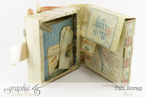Tati Scrap Come Away with Me Traveler Box Graphic 45