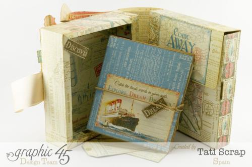 Tati Scrap Come Away with Me Traveler Box Graphic 45