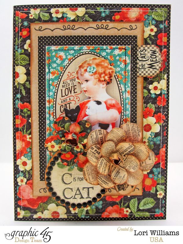 Raining Cats and Dogs Card