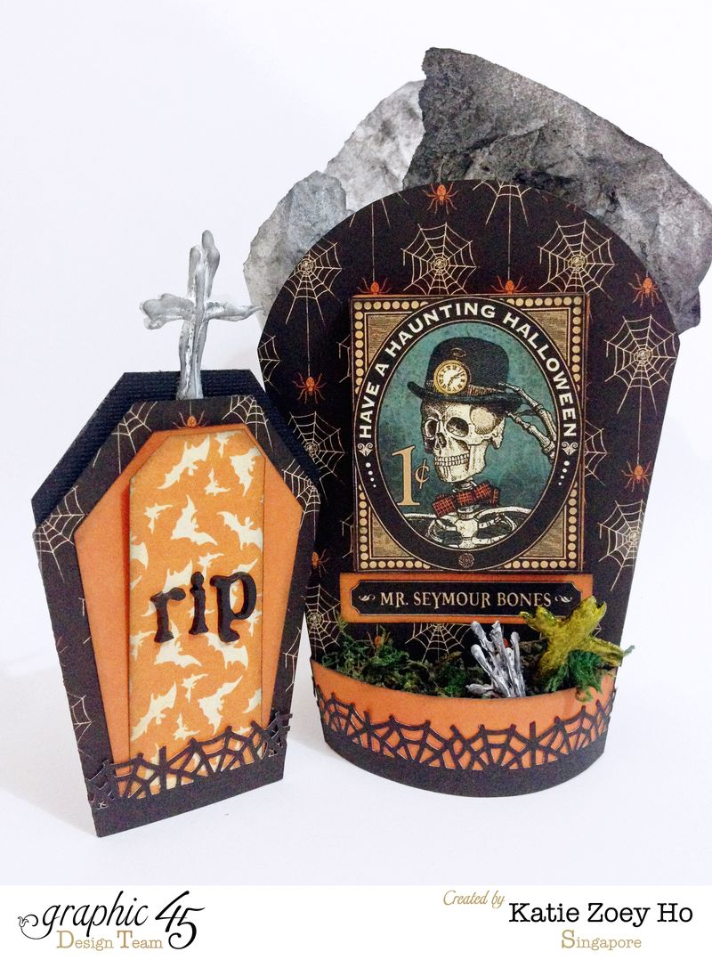 Halloween Tomb Party Gift Bag _ Card_4