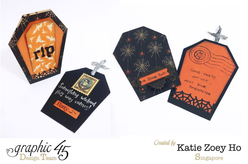Halloween Tomb Party Gift Bag _ Card_6