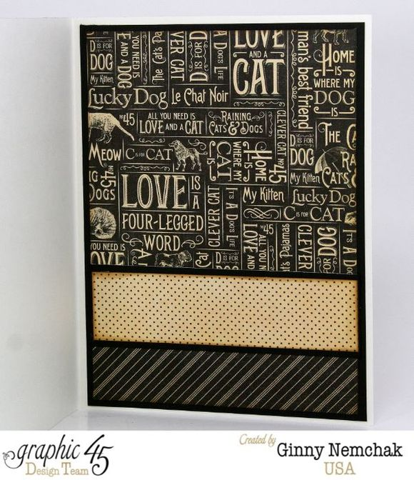 Love is a 4 Legged Word Card 1