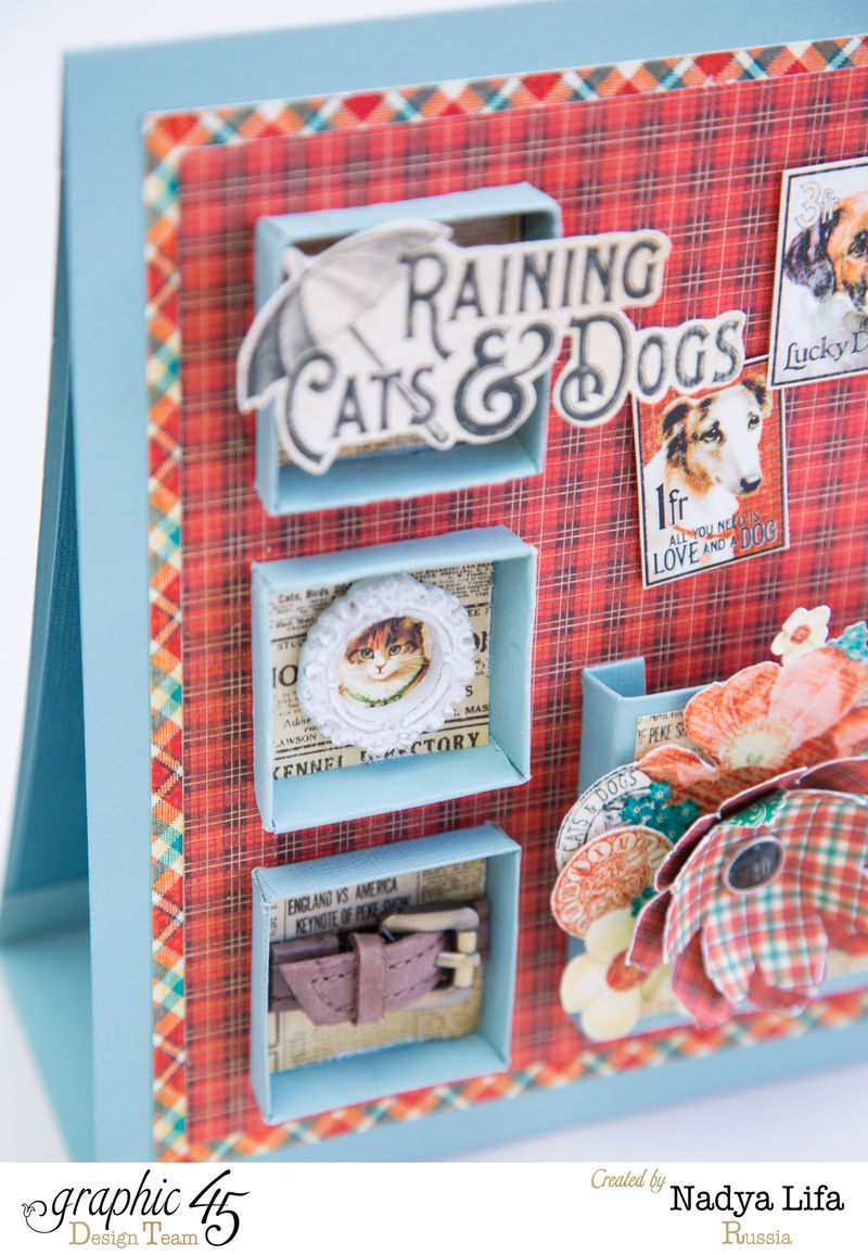 Raining Cats _ Dogs Graphic 45 Table Planner 9