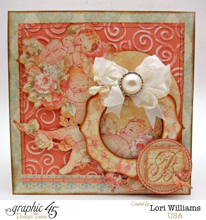 Graphic 45 Coredinations Card Lori Williams