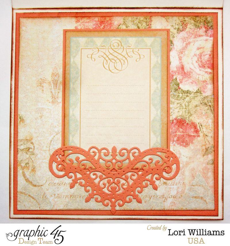 Graphic 45 Coredinations Card Interior Lori Williams