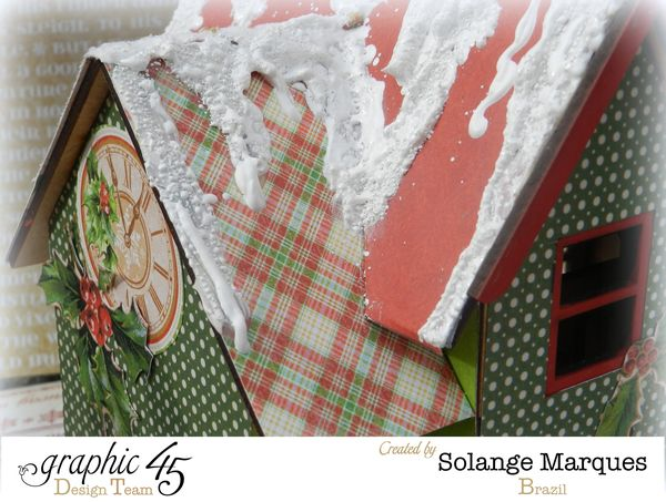 Graphic 45 project- Christmas  House-Twas the Night Before Christmas  (7)