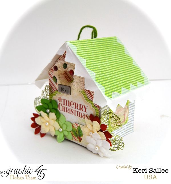 G45_Christmas_House Ornament