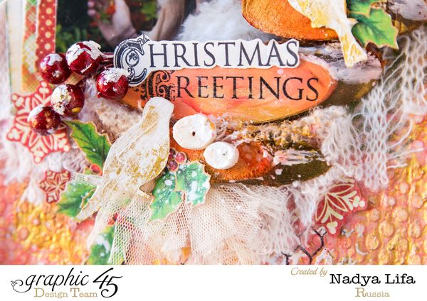 Twas The Night Before Cristmas Graphic 45 Mixed-media LO1