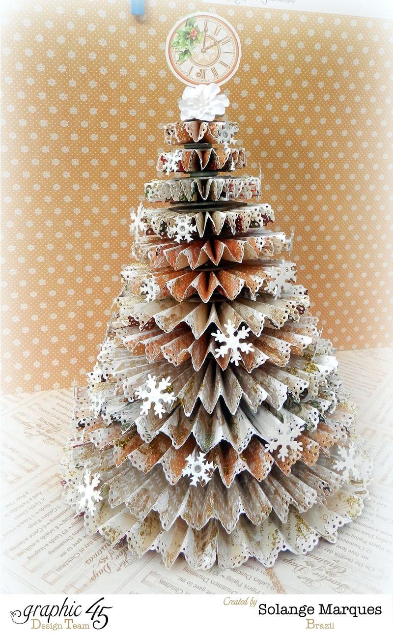 G45 December project Rosette Christmas Tree 2