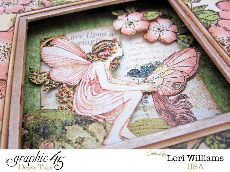 Once Upon a Springtime Graphic 45 Box Lori Williams Close UP