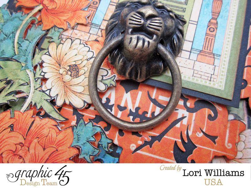 Artisans Graphic 45 Lori Williams Card Close Up