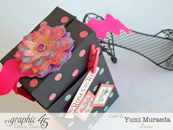 "Time to Flourish Valentine Box-Card ""XOXO""1"