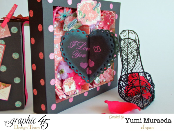 Surprise your Valentine with this great Time to Flourish project! By Yumi using Graphic 45