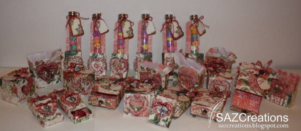 Sharon Zeches made these gorgeous Valentine's Day projects! Wow!
