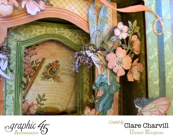 Once Upon A Springtime Shadow Box 1 CHA 2015 Clare Charvill Graphic 45
