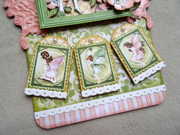 Love these stamps on Annette's Once Upon a Springtime tag! #graphic45