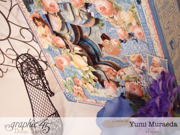 Precious Memories shadowbox by Yumi. Gorgeous #graphic45